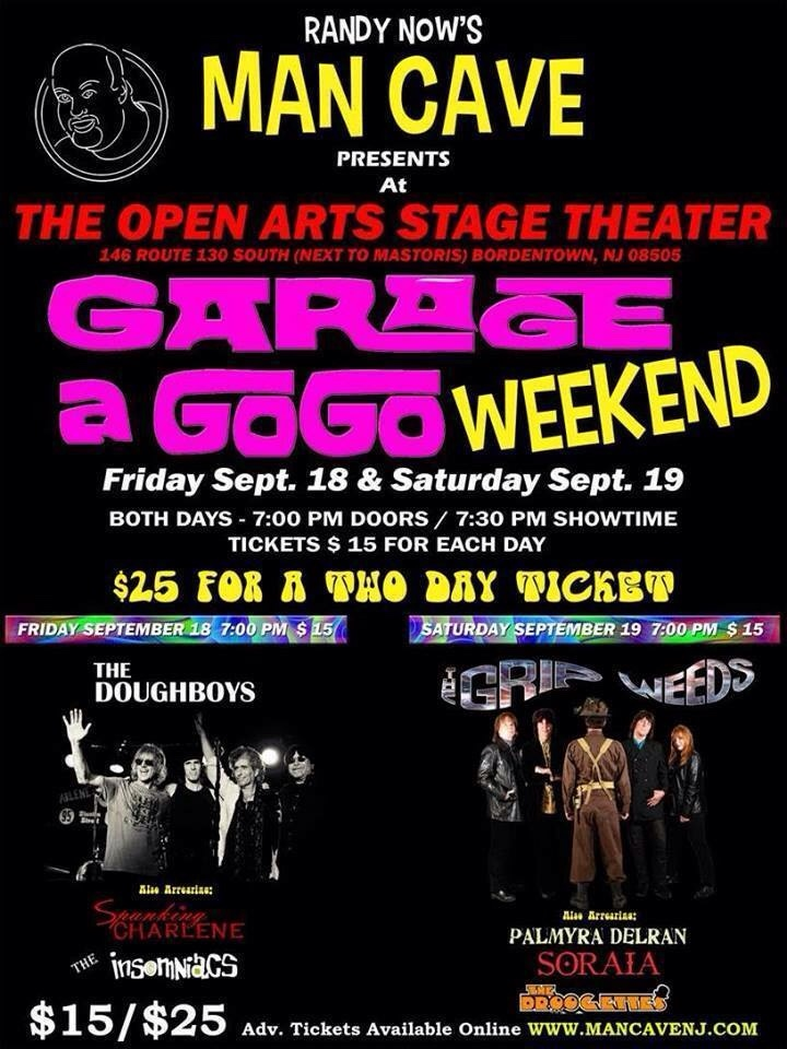 Randy Now Garage A GoGo Weekend