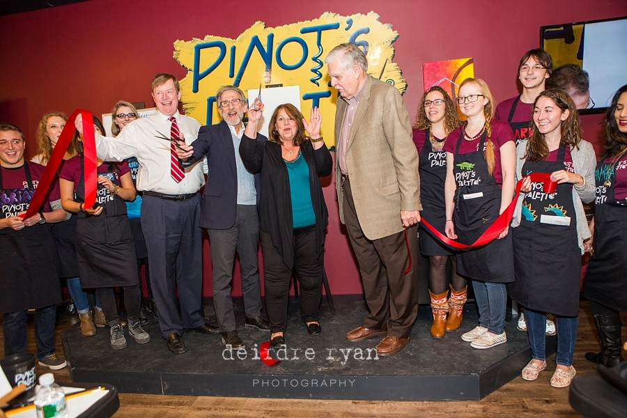 Grand Opening of Prineton's Pintot's Palette Photo by Deirdre Ryan Photography